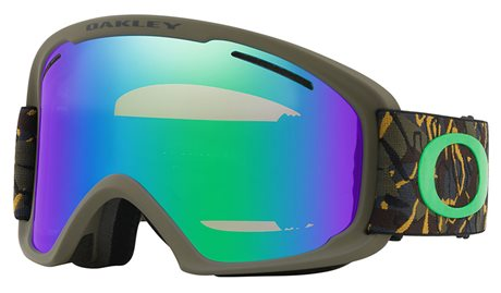 OAKLEY O Frame 2.0 XL Camo Vine Jungle w/Jade Iridium + Persimmon 18/19