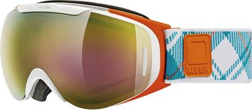 Produkt UVEX G.GL 9 RECON READY, white orange dl/ltm gold S5507001126