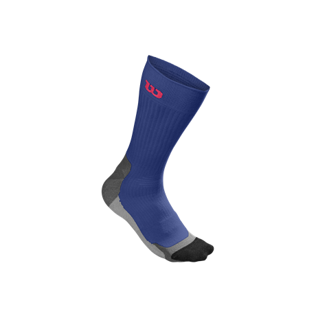 Wilson M Color High End Crew Sock Dark Blue