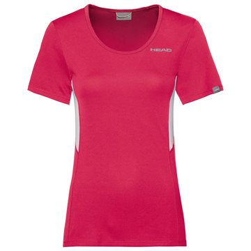 Produkt HEAD Club Technical T-Shirt Women Magenta
