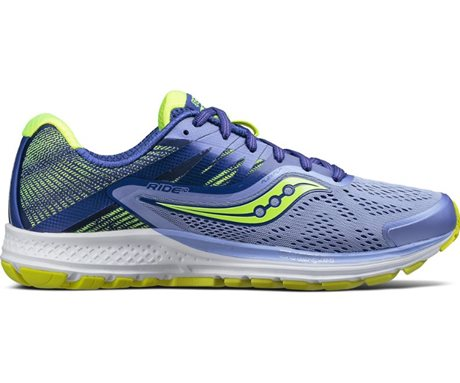 Saucony Ride 10 Purple/Blue/Citron
