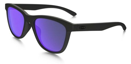 OAKLEY Moonlighter Matte Black w/ Violet Iridium Polar
