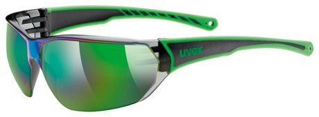UVEX SPORTSTYLE 204, BLACK GREEN (7716) 2020