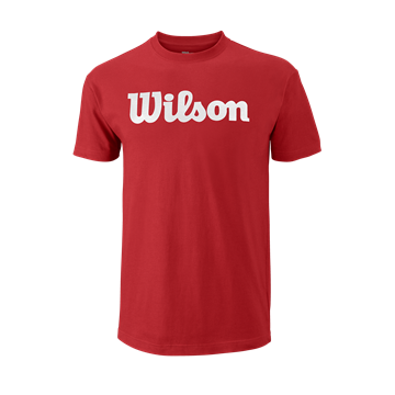 Produkt Wilson M Script Cotton Tee Red