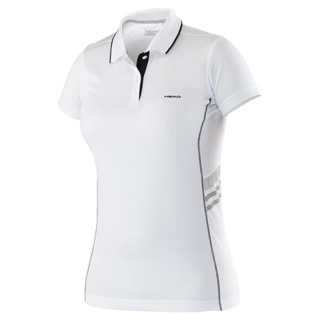 Head Polo Shirt - Club W Technical White