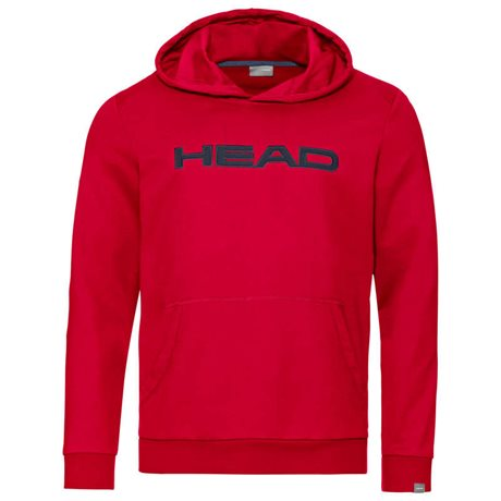 HEAD Club Byron Hoodie Junior Red/Dark Blue