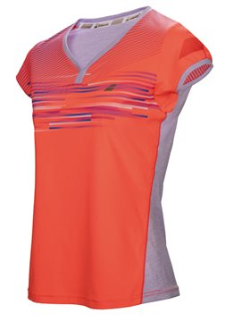 Produkt Babolat Cap Sleeve Top Girl Performance Fluo Red