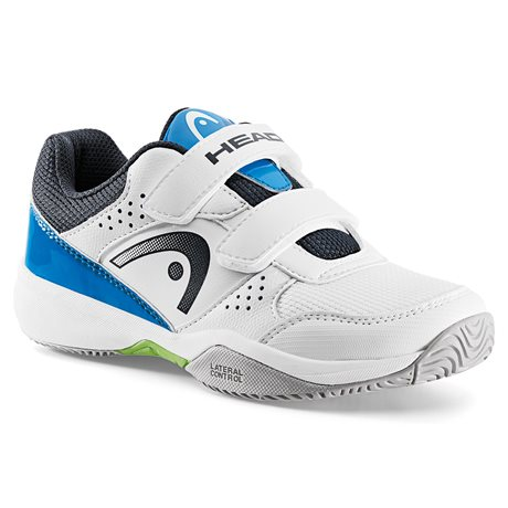 HEAD Nitro Velcro Kids All Court White/Blue 2017