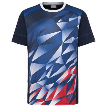 Produkt HEAD Medley T-Shirt Boy Royal Blue/Red
