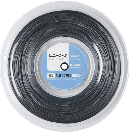 Luxilon Alu Power Rough 220m 1,25 Reel Grey