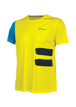 Produkt Babolat Performance Men TEE Crew Neck Yellow 2018
