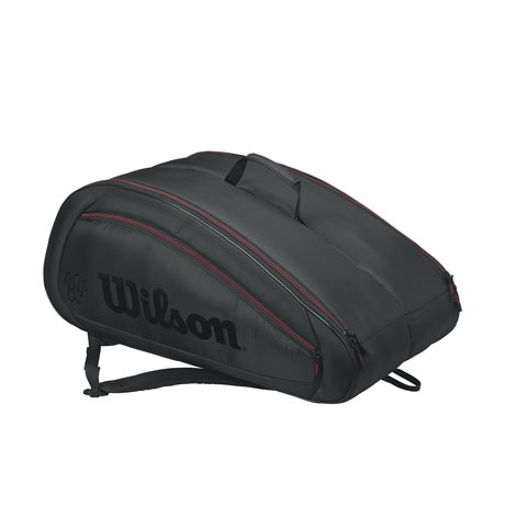 Wilson Federer Team 12 Pack Black 2017