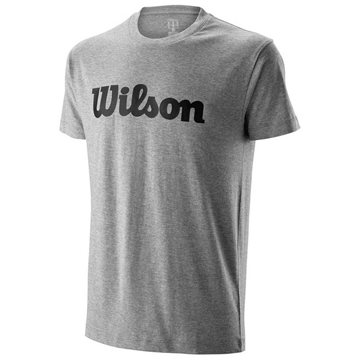 Produkt Wilson M Script Cotton Tee Heather Gray/Black
