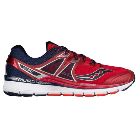 Saucony Triumph ISO 3 Red/Navy