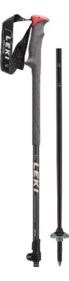 Leki Hurricane Vario anthracite metallic/black-grey-neonred 110-140 6432746 18/19