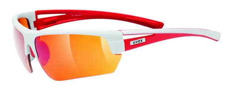 UVEX GRAVIC, WHITE RED