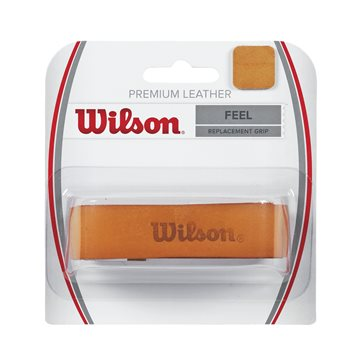 Produkt Wilson Premium Leather Overgrip Brown X1