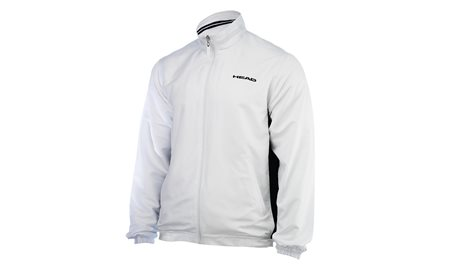 HEAD Hartley Jacket Junior White/Black