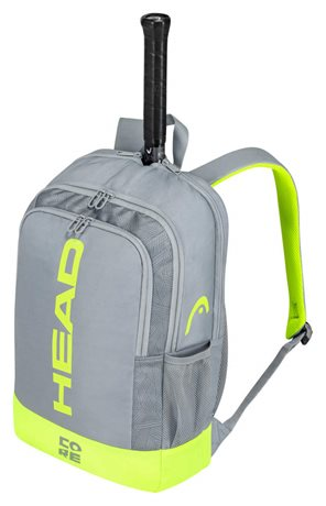 Head Core Backpack Grey/Neon Yellow 2021