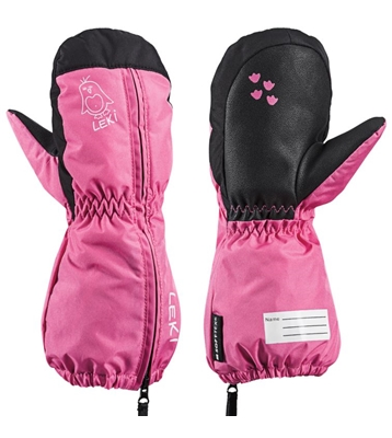 Leki Little Sleeve Mitt pink-black 643889404 18/19
