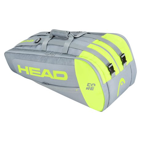 Head Core 9R Supercombi Grey/Neon Yellow 2021