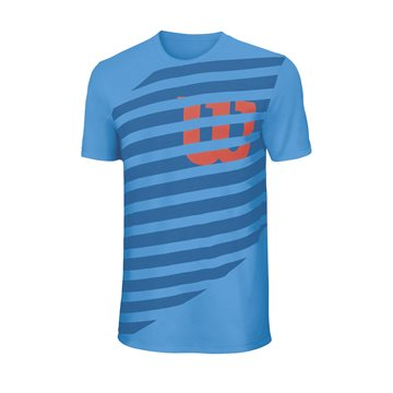Produkt Wilson Lined Tech Tee Blue