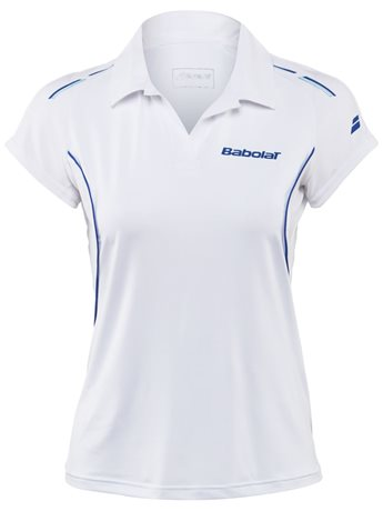 Babolat Polo Girl Match Core White 2015