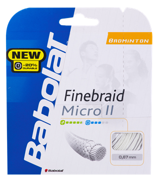 Produkt Babolat Finebraid Micro II 10,20m 0,67 Orange
