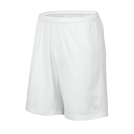 Wilson Elite 9 Knit Tennis Short White