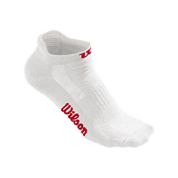 Produkt Wilson W No Show Sock 3 Pack White