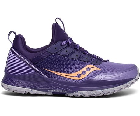 Saucony Mad River TR Purple/Peach