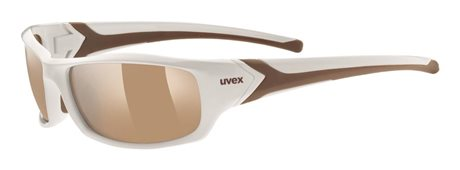 UVEX SGL 211 WHITE/LTM BROWN