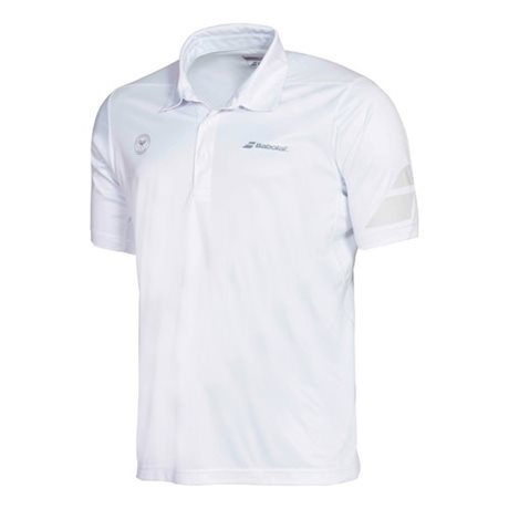 Babolat Polo Men Performance Wimbledon White 2016