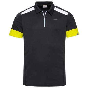 Produkt HEAD Golden Slam Polo Shirt Men Black/Yellow