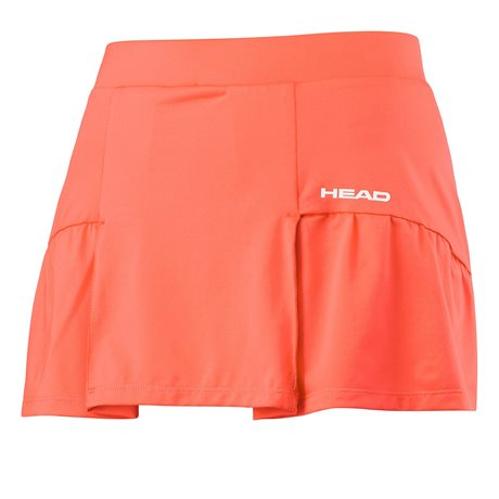 HEAD Club Basic Skort Women Orange