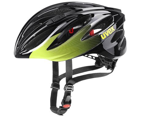 UVEX BOSS RACE, BLACK-LIME 2021