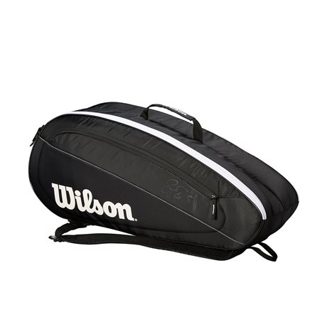 Wilson Federer Team 6 Pack Black 2019