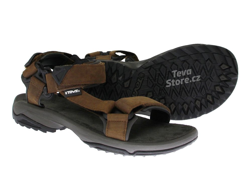 Teva Terra Fi Lite Leather BRN 1012072 BRN// Chaussures de Montagne Homme